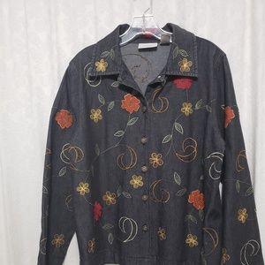 Jacket Vintage style whit beading